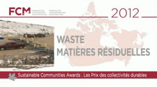 Federation of Canadian Municipalities 2012 Sustainable Communities Award