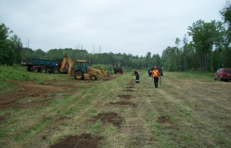 Ottawa Valley Waste Recovery Centre – Planting Poplar Trees at the Landfill Site