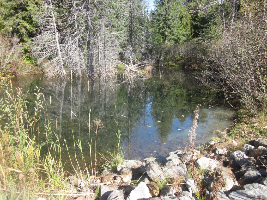 Mining Leachate Catchment Pond