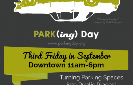 Visit PRSI at PARK(ing) Day in Downtown Vernon